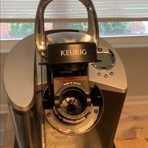 Keurig Kitchen - Keurig with Coffee Pod Drawer!